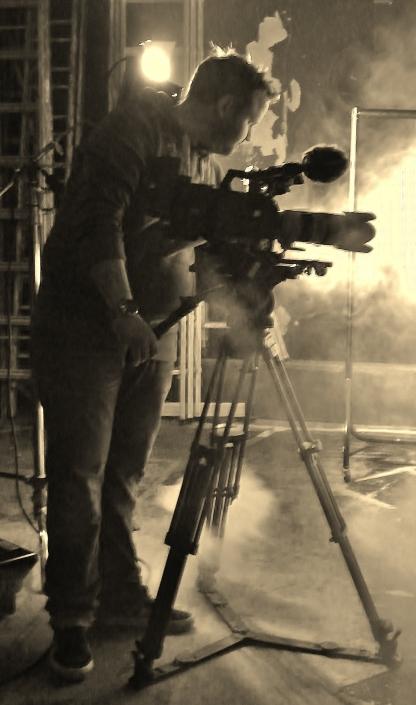 Producer/Director Sam Supple (@SamSups) on set. ©Come Step Back In Time