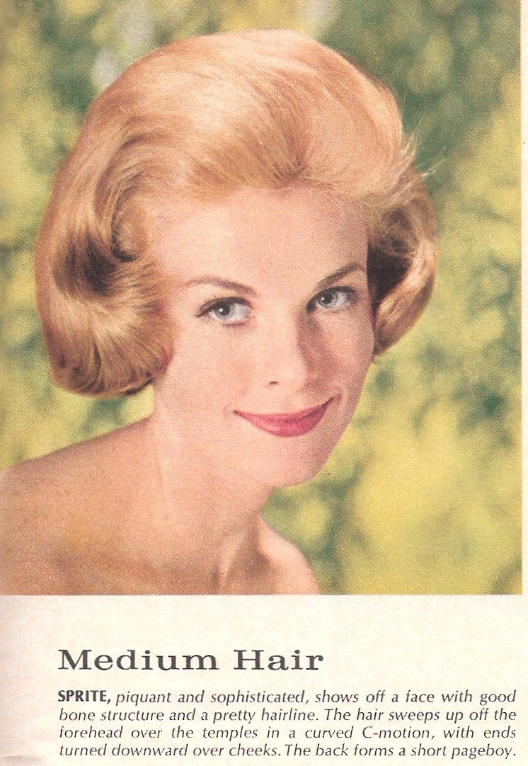 scene hair styles gloria holloway from vintage hair lounge come 1958 | 004