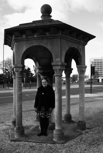 Me at the Stella Memorial, Southampton, 2015. ©Come Step Back In Time