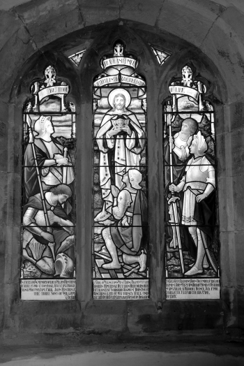 Huntriss Memorial Window. ©Dawn Broom 2015
