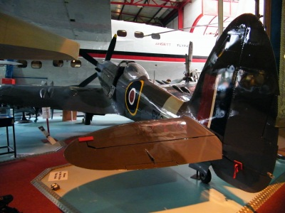 Solent Sky Museum have a rare Spitfire on display, the Vickers Supermarine Spitfire Mk24 PK683. One of the last of its type to be produced, PK683 saw service with the RAF in Malaysia, and is in almost original condition. ©Come Step Back In Time